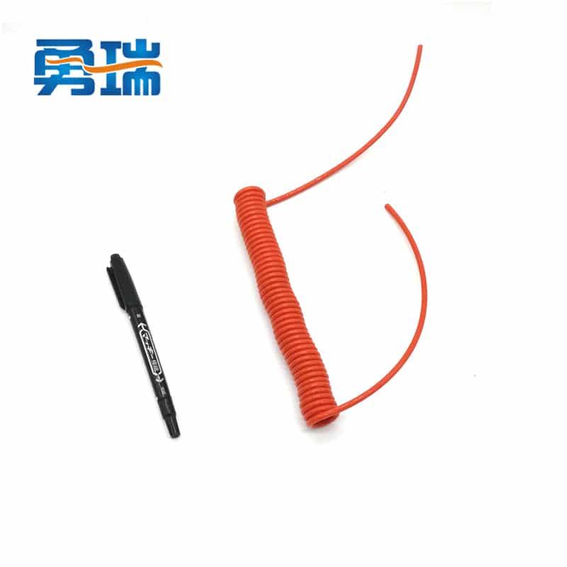 helical orange 2.6 meter long 360 rotating safety wrist ...